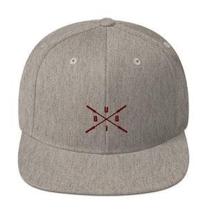 Untamed Heather Grey Snapback