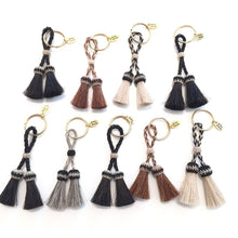 Load image into Gallery viewer, Isabel Horse Hair Tassel Key Chain