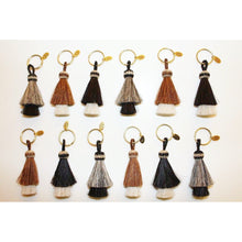 Load image into Gallery viewer, Ansley Horse Hair Tassel Key Chain
