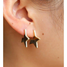 Load image into Gallery viewer, Erin Star Earrings