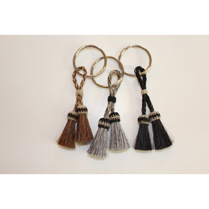 Isabel Horse Hair Tassel Key Chain