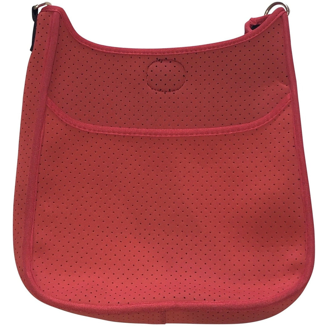 Neoprene Messenger- Red