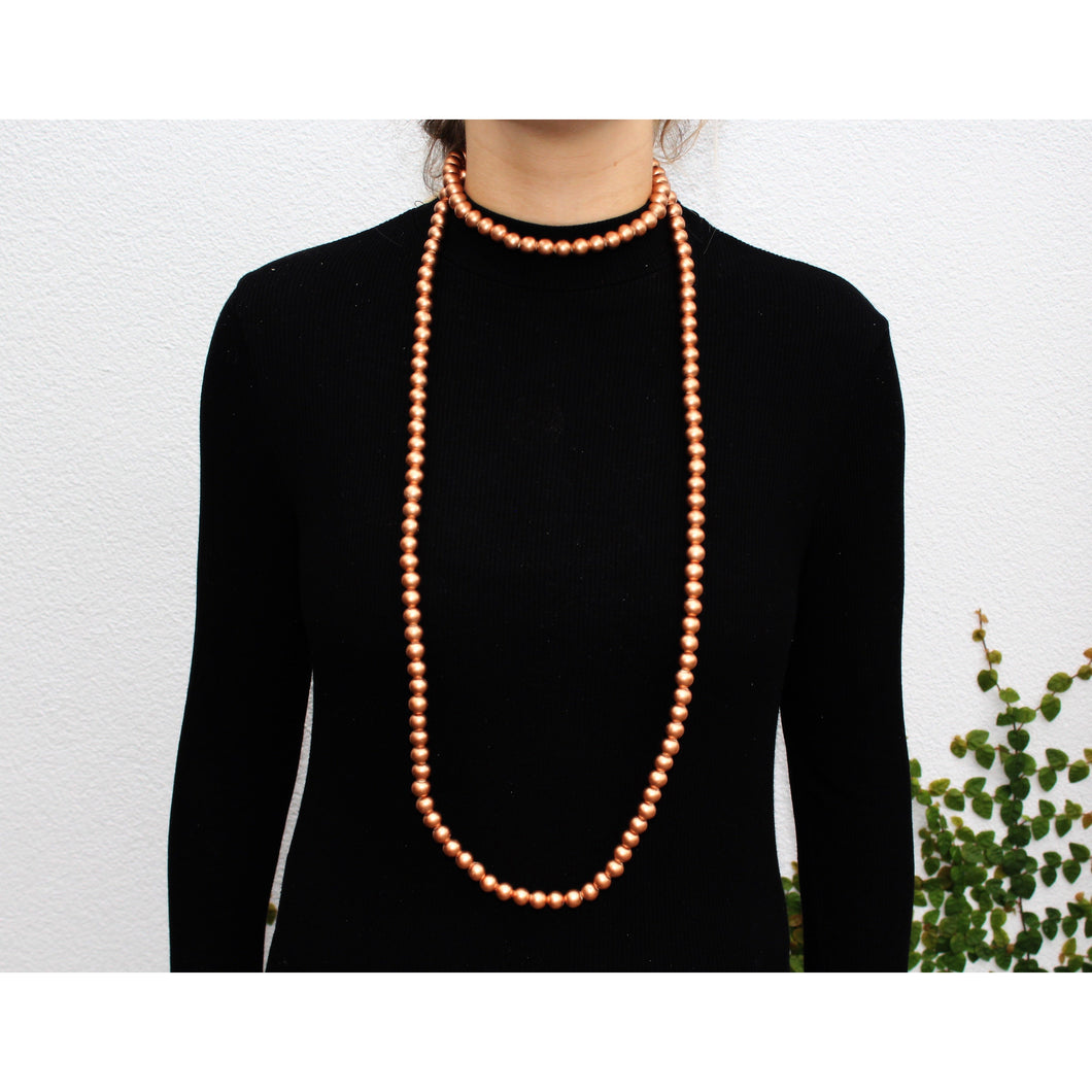 Metallic Mala Necklace Large