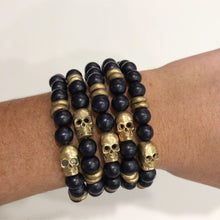 Load image into Gallery viewer, Skull Bracelet Stacks