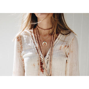 Seaside Necklace- White