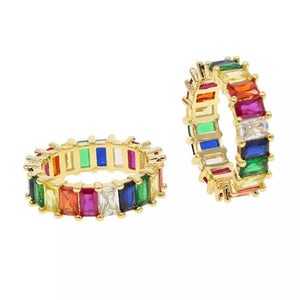 Chloe Rainbow Ring