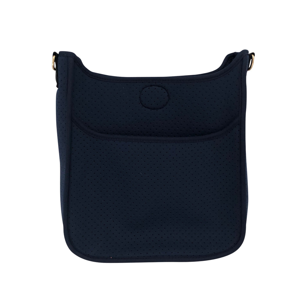 Neoprene Messenger- Navy