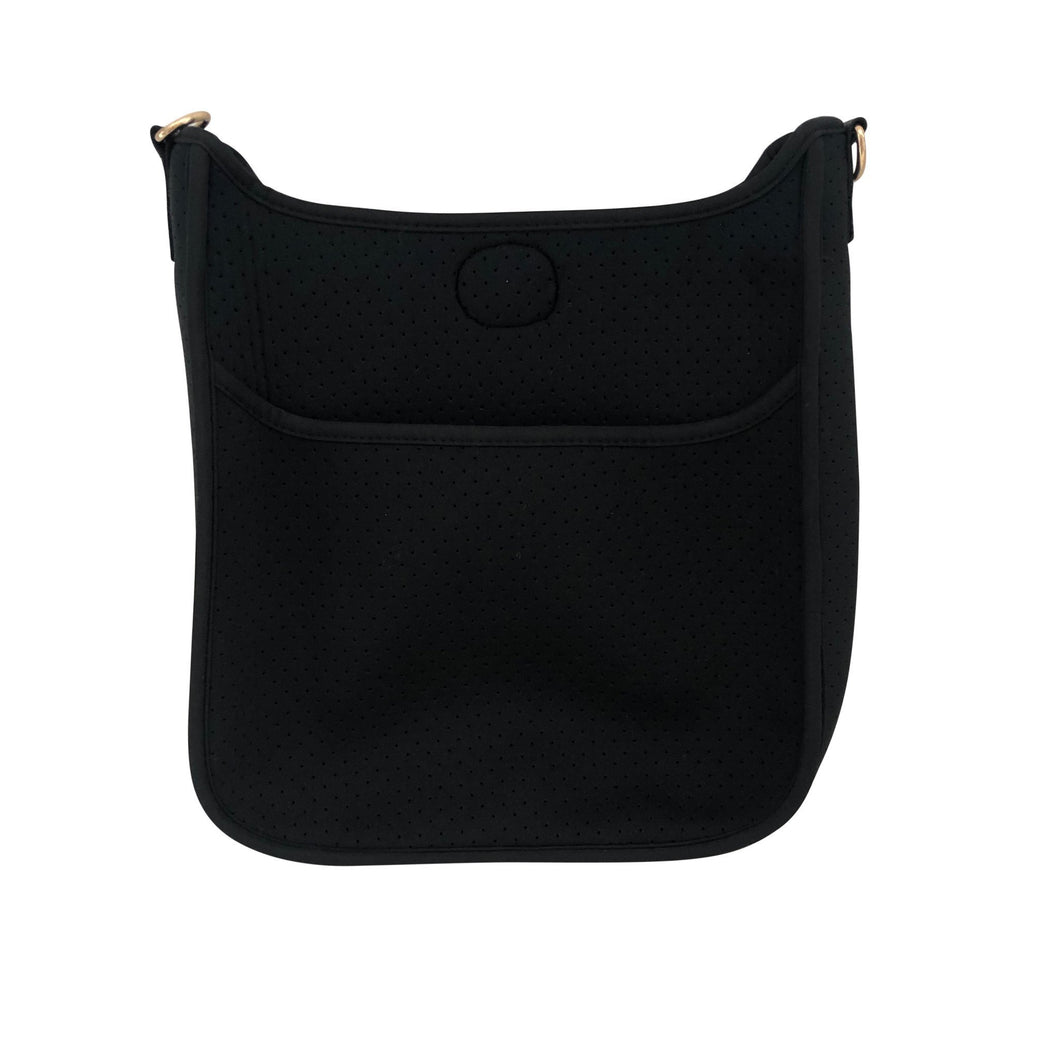 Neoprene Messenger- Black