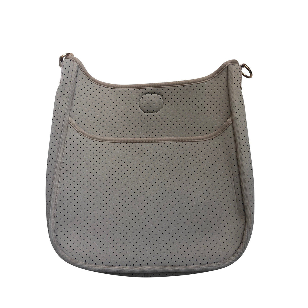 Neoprene Messenger- Grey