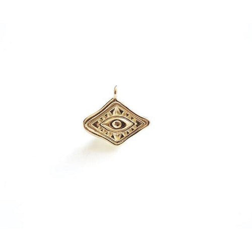 Diamond Shaped Evil Eye Charm