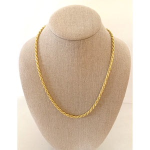 Vail Rope Chain Necklace