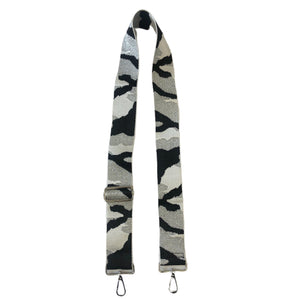 "2"" Camo White/Silver/Black Bag Strap"