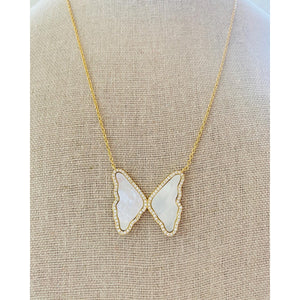 Caro Butterfly Necklace