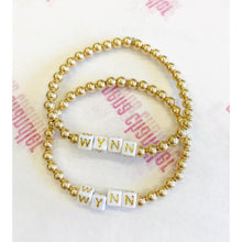 Load image into Gallery viewer, Personalized 5mm Layer Bracelet- Gold