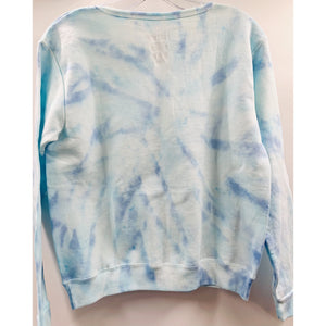 Masks By Branch x Boho Beads Tie Dye Pullover - Blue