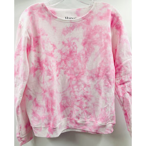 Masks By Branch x Boho Beads Tie Dye Pullover - Pink