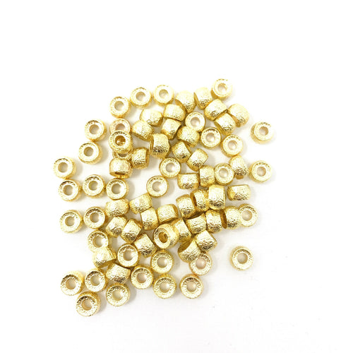 Textured Gold Bead