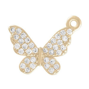 Butterfly Charm- Gold