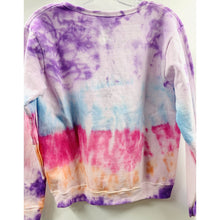 Load image into Gallery viewer, Masks By Branch x Boho Beads Tie Dye Pullover - Purple/Blue/Pink/Orange