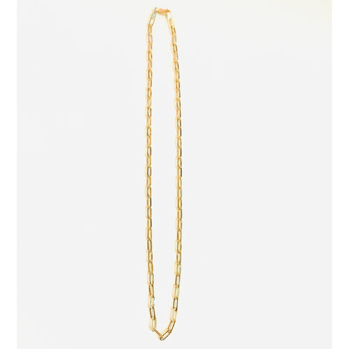 "Medium Link 18"" Chain Necklace"
