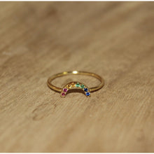 Load image into Gallery viewer, Mini Rainbow Ring