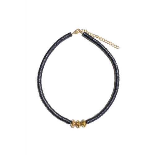 Stacked Choker Necklace | Midnight