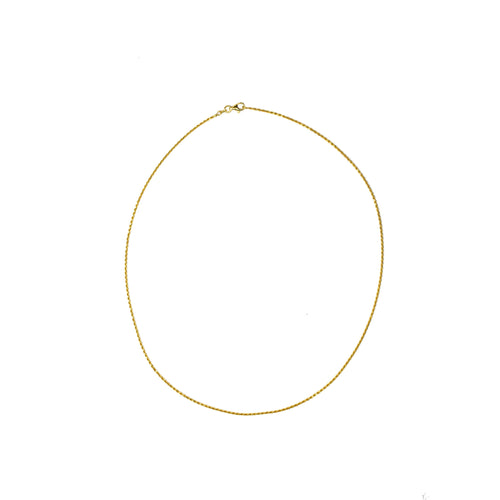 Rope Chain Necklace- Thin