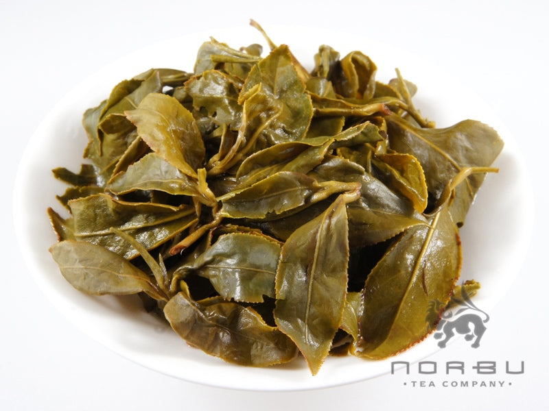 "Ali Shan ""Dong Pian"" - Winter Taiwan Oolong Tea - Wet Leaves"