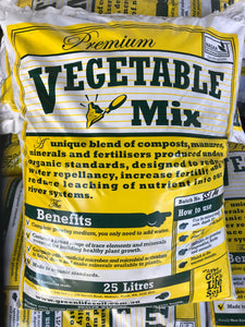 Green Life Soil Veggie Mix 25L