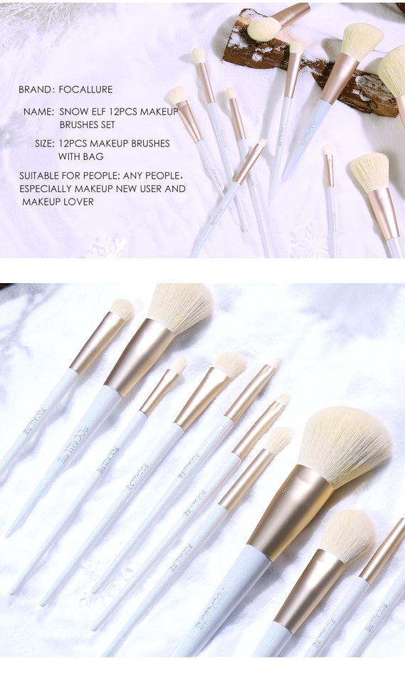 FOCALLURE Snow Brushes Set