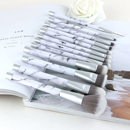 Marble Brushes Set