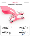 Curler Eyelashes Tweezers Extension Applicator