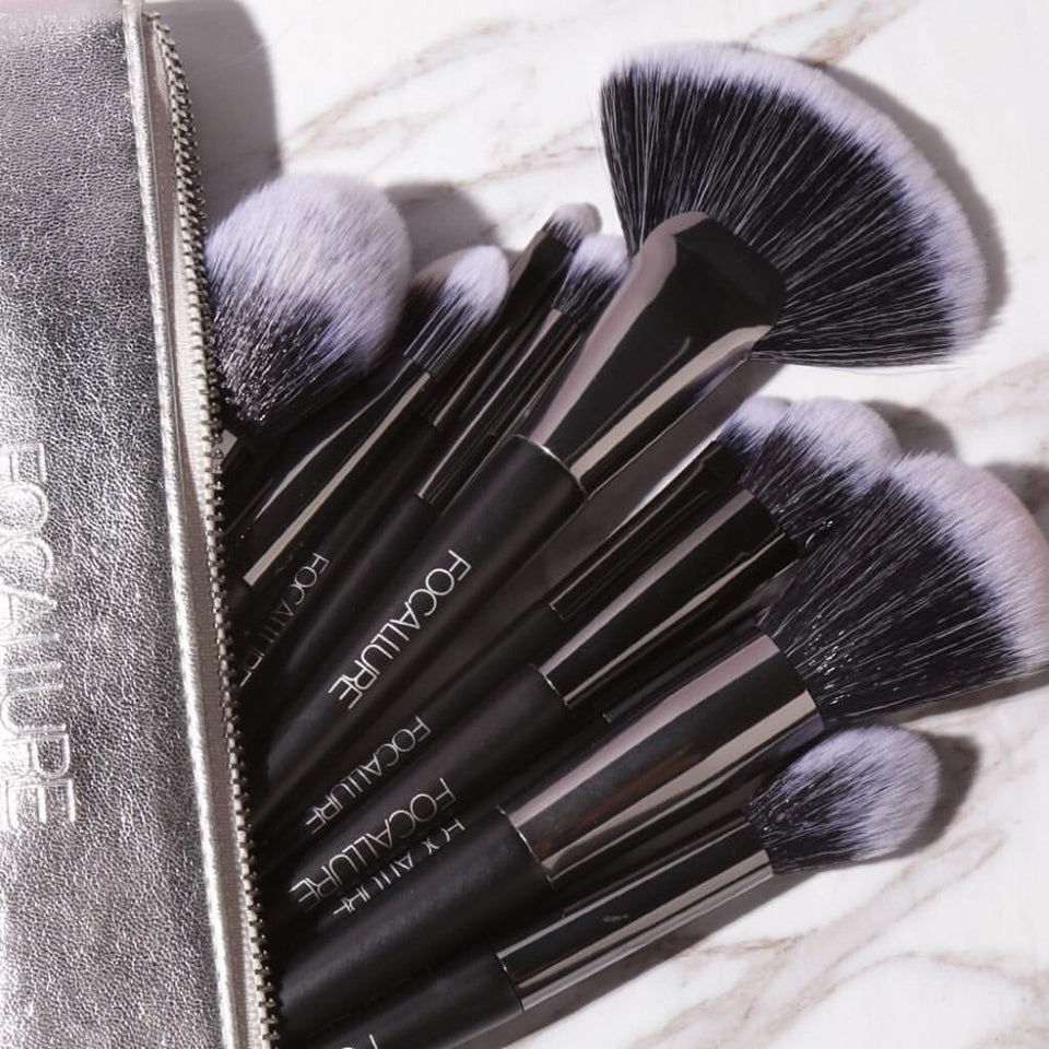 FOCALLURE Black Brush Set