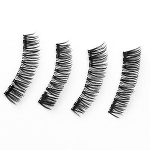 3D/6D Magnetic Eyelashes + 2 Magnets  Soft Hair Natural Long