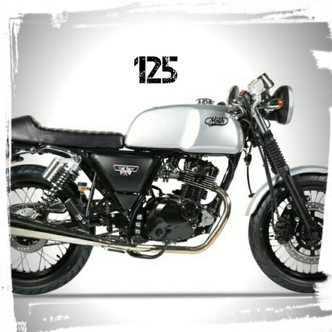 Mash 125 (cafe racer, brown 7 & black 7) 2017+
