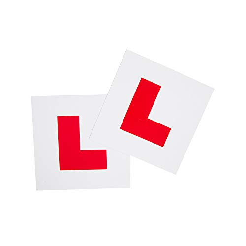 L-Plates stick on (pair)