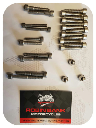 Stainless Engine Bolt Kit (250cc chinese engines)