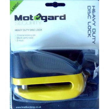 MotoGard Disc Lock Heavy Duty Large