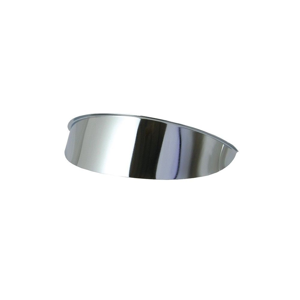 Headlight Visor (chrome)