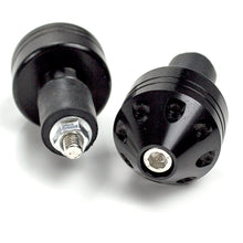 Load image into Gallery viewer, Universal Handlebar End weights (Black or Silver)
