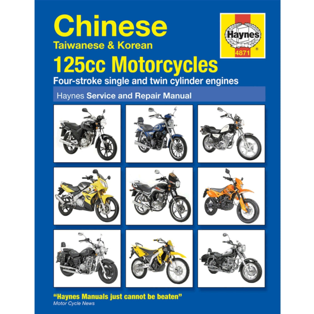 Generic Chinese 125cc Motorcycles Haynes Manual