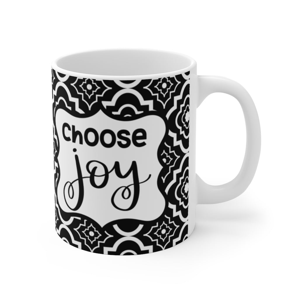 choose joy coffee mug