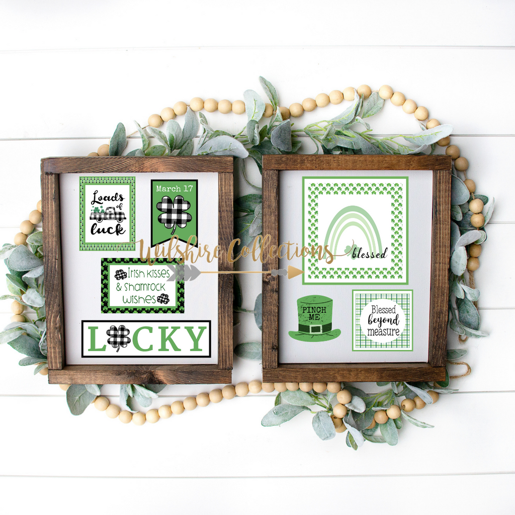 st. patrick's day printable bundle