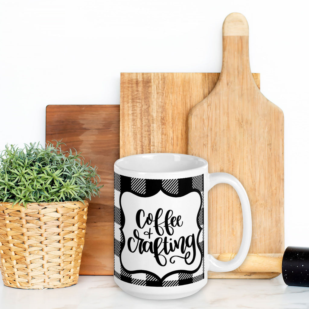 Coffee and Crafting Mug