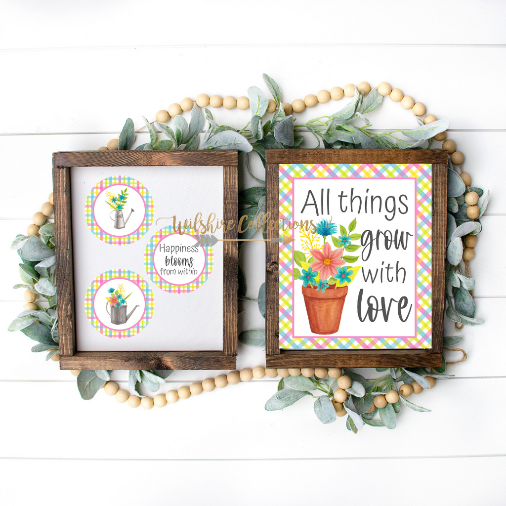 garden printable bundle