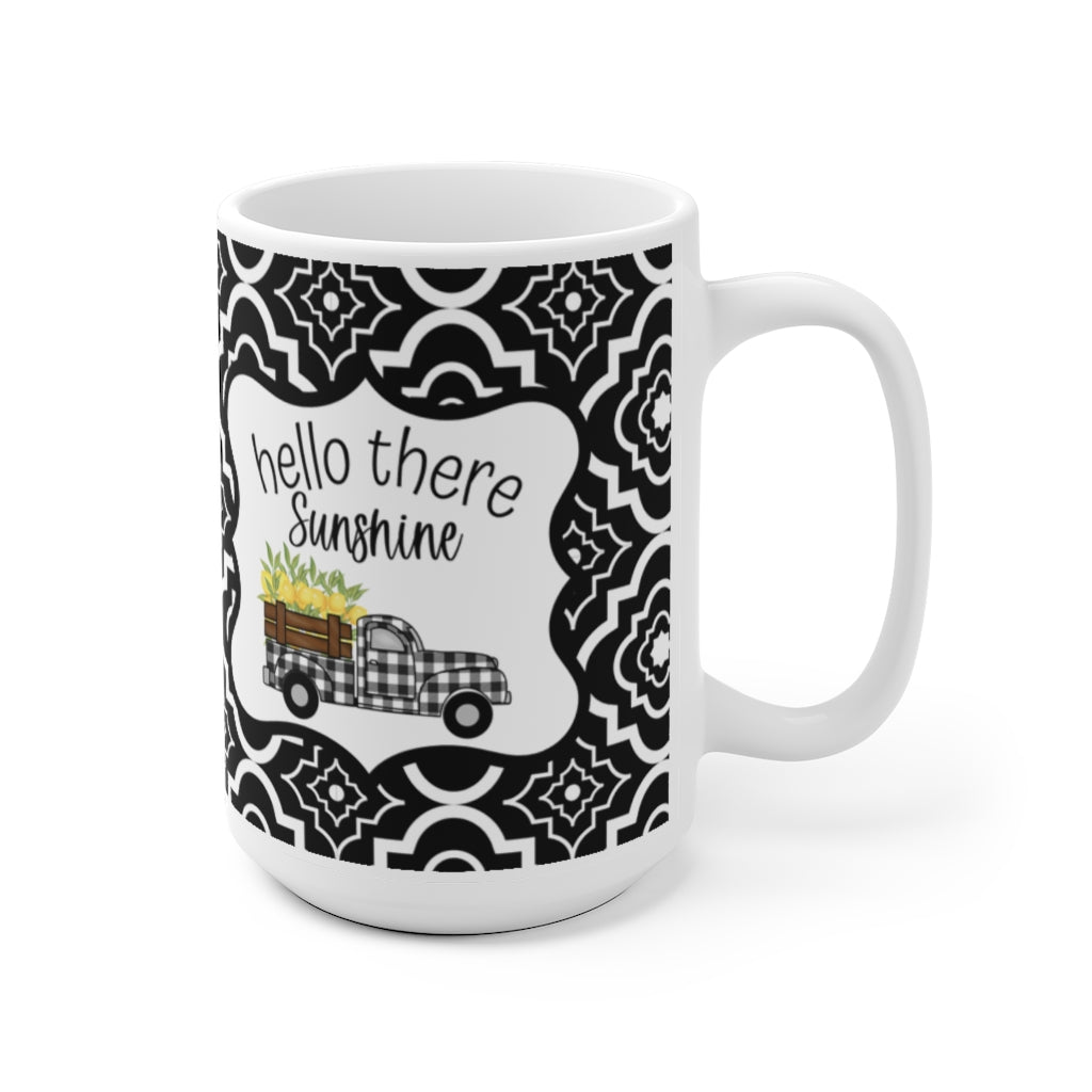 Hello there sunshine mug