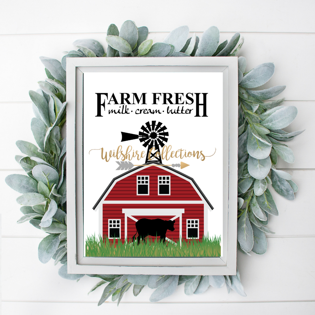 farmhouse barn printable