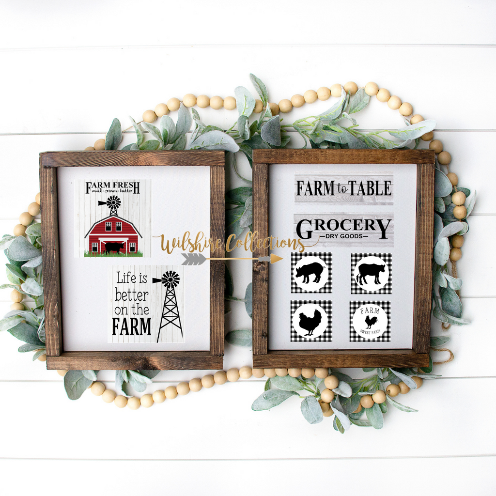 farmhouse printable crafter bundle