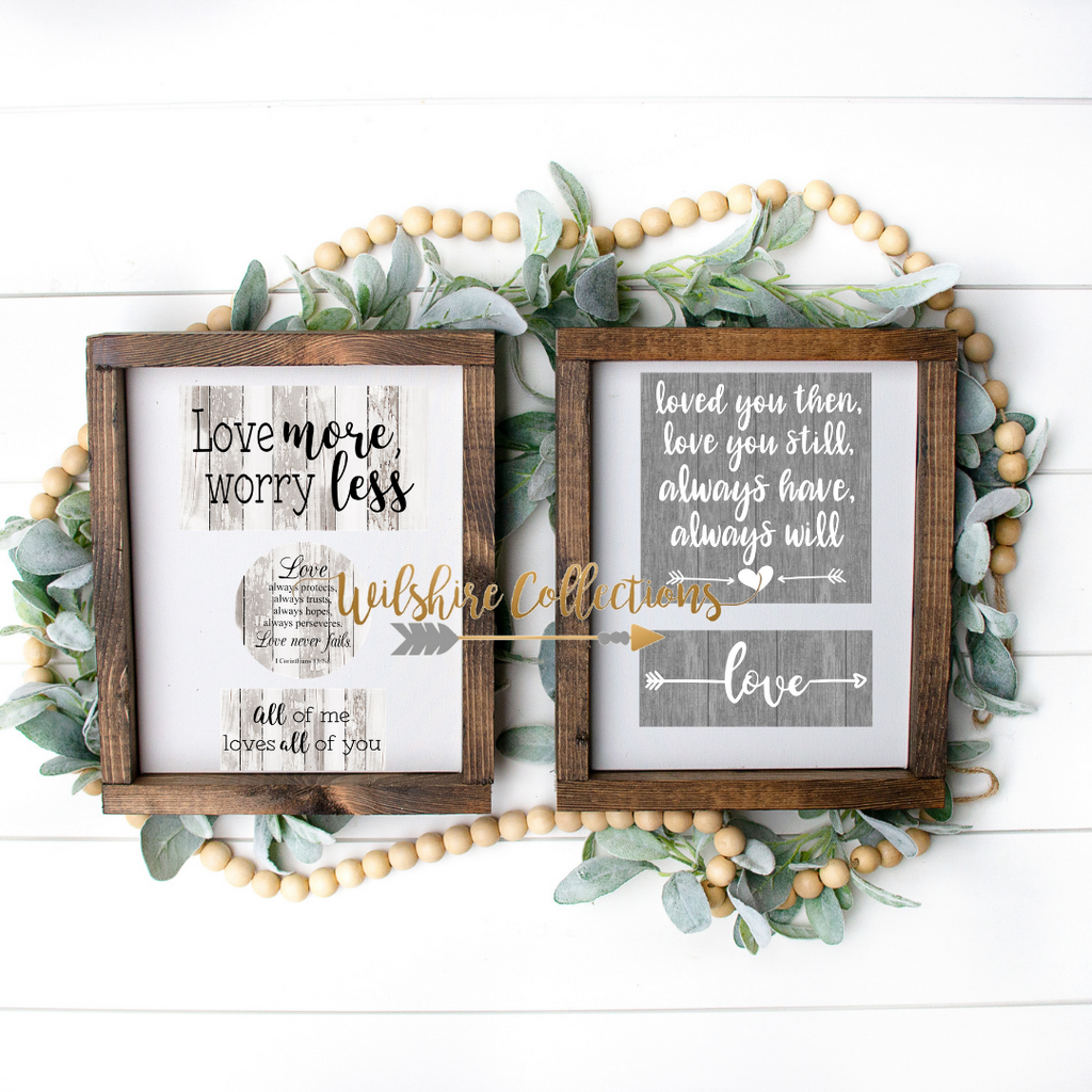 love quote printable bundle