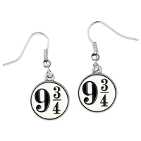 Pendientes Platform 9 3/4 Harry Potter